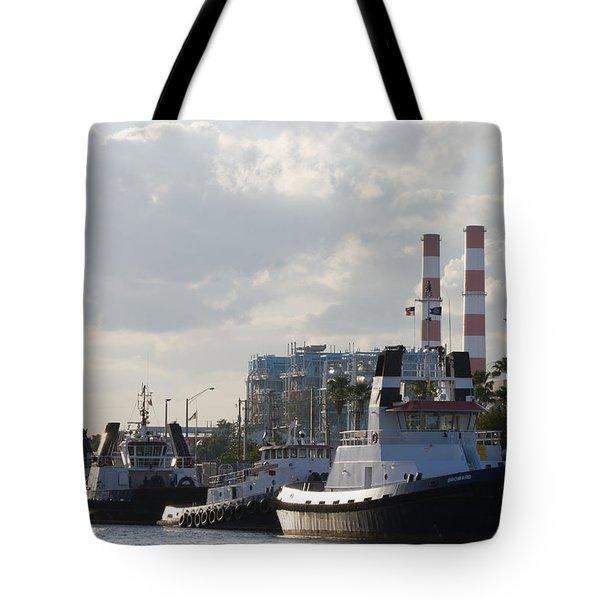 Tugs Tote Bag