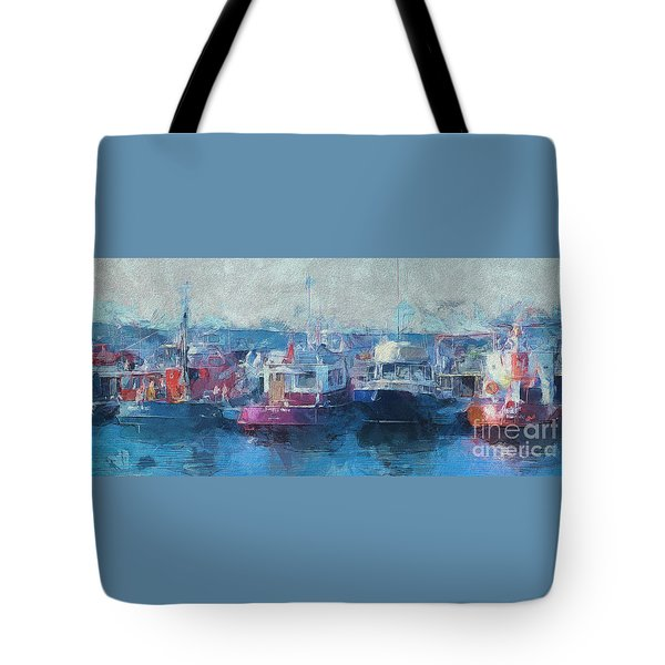 Tugs Together  Tote Bag