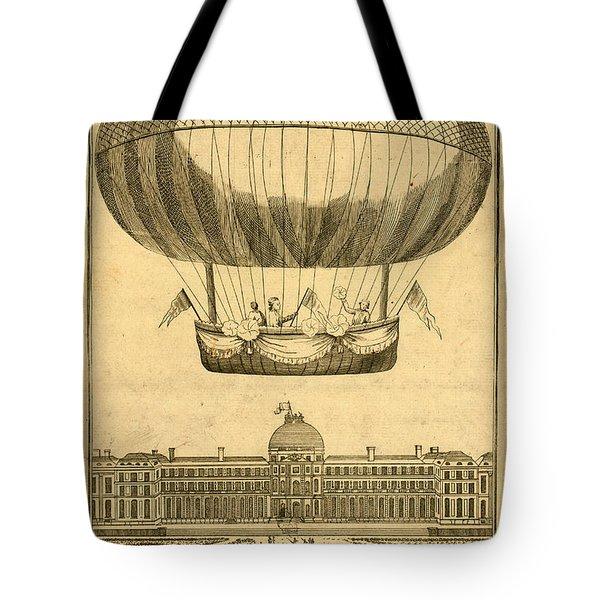 Tuileries Garden, Paris Tote Bag