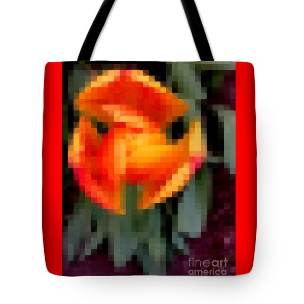 Tulip 1 Honoring Princess Diana Tote Bag by Richard W Linford