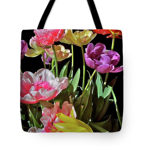 Tote Bag featuring the photograph Tulip 8 by Pamela Cooper