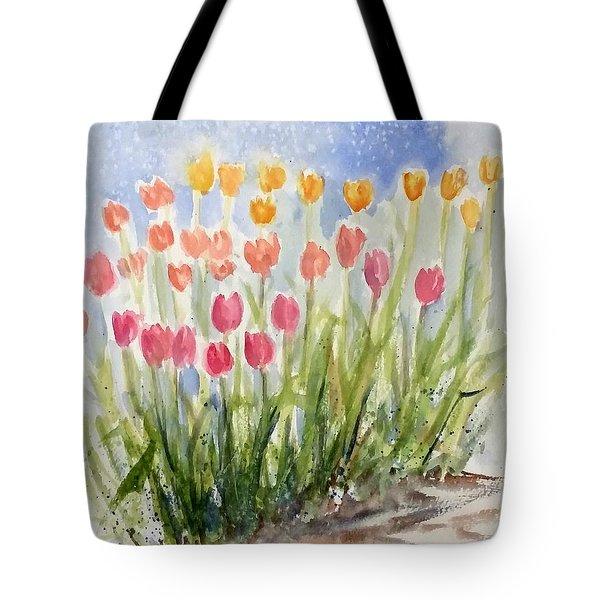 Tulip Abunda Tote Bag