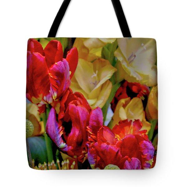 Tulip Bouquet Tote Bag