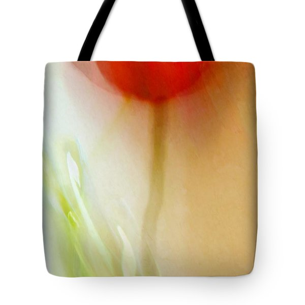 Tote Bag featuring the photograph Tulip Dancer by Patricia Strand