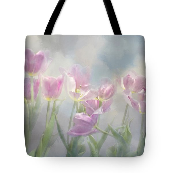 Tulip Dreams Tote Bag by Ann Bridges