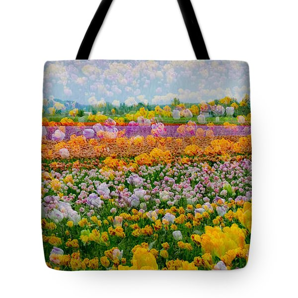 Tote Bag featuring the photograph Tulip Dreams by Tom Vaughan
