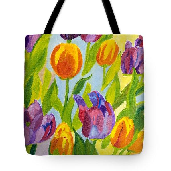Tulip Fest Tote Bag