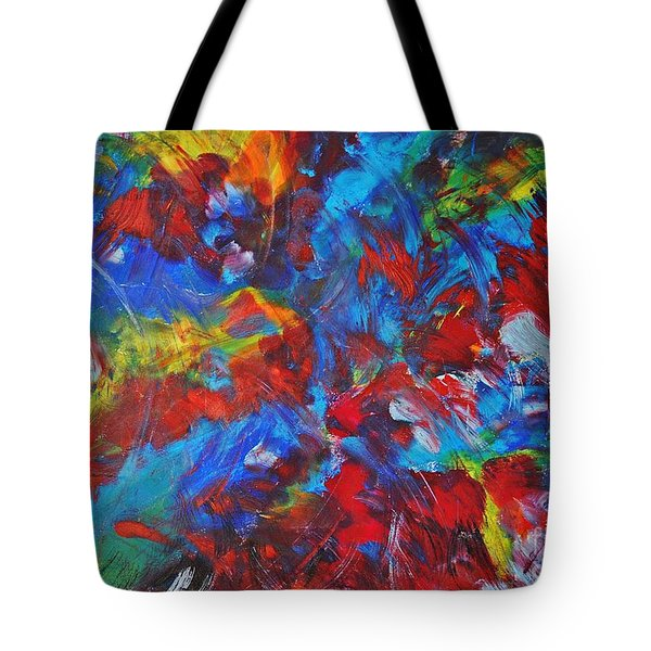 Tulip Field Tote Bag