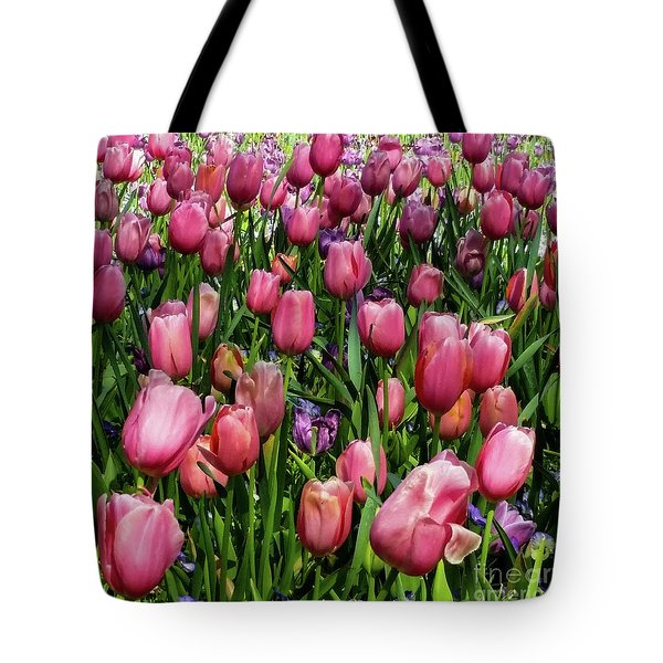 Tulip Flowers  Tote Bag