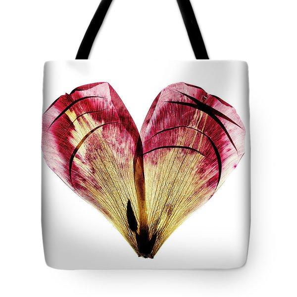 Tulip Heart Tote Bag