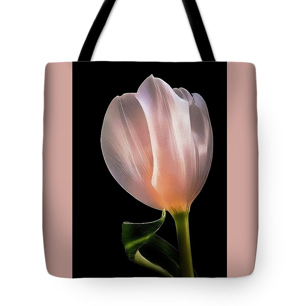 Tulip In Light Tote Bag
