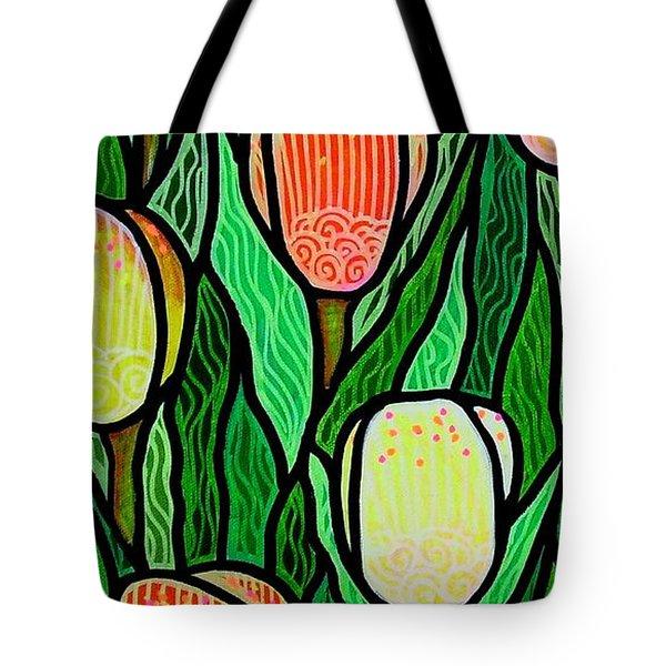 Tulip Joy 2 Tote Bag by Jim Harris