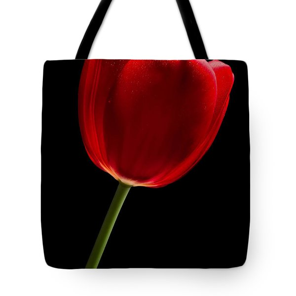 Tote Bag featuring the photograph Red Tulip No. 2 By Flower Photographer David Perry Lawrence by David Perry Lawrence