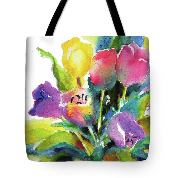 Tulip Pot Tote Bag