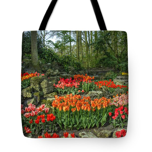 Tulip Rocks  Tote Bag