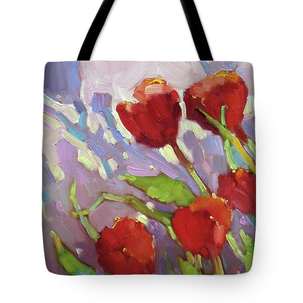 Tulip Shdows Tote Bag