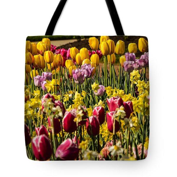Tulip Spring Tote Bag
