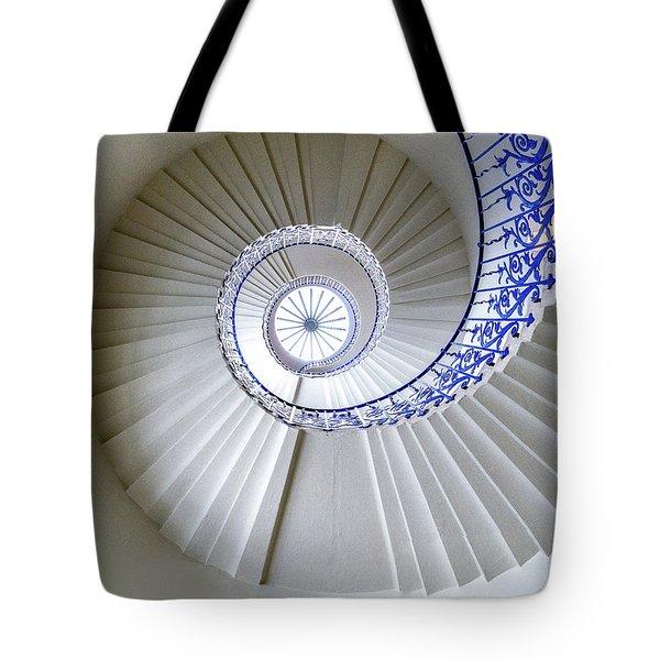 Tulip Staircase Tote Bag by Jae Mishra