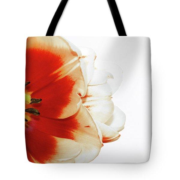Tulip Statement Tote Bag by Afrodita Ellerman