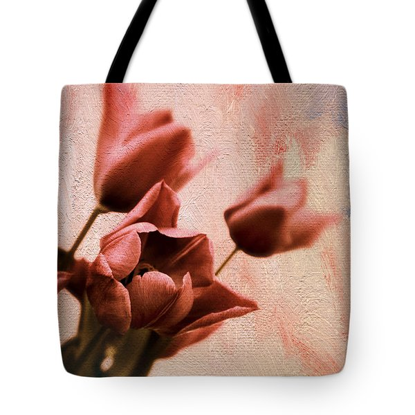 Tote Bag featuring the photograph Tulip Whimsy by Jessica Jenney