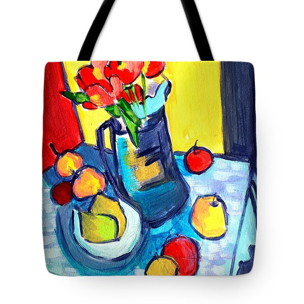 Tulip Still Life Tote Bag