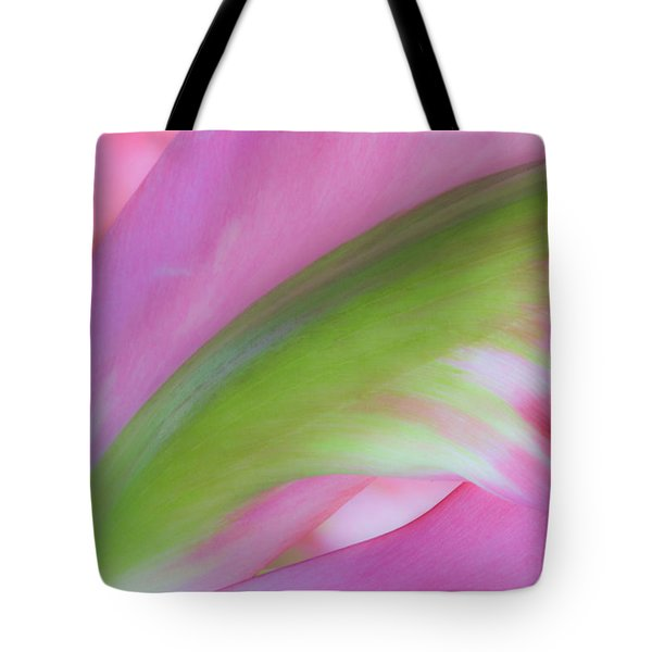 Tote Bag featuring the photograph Tulip Study by Marla Craven