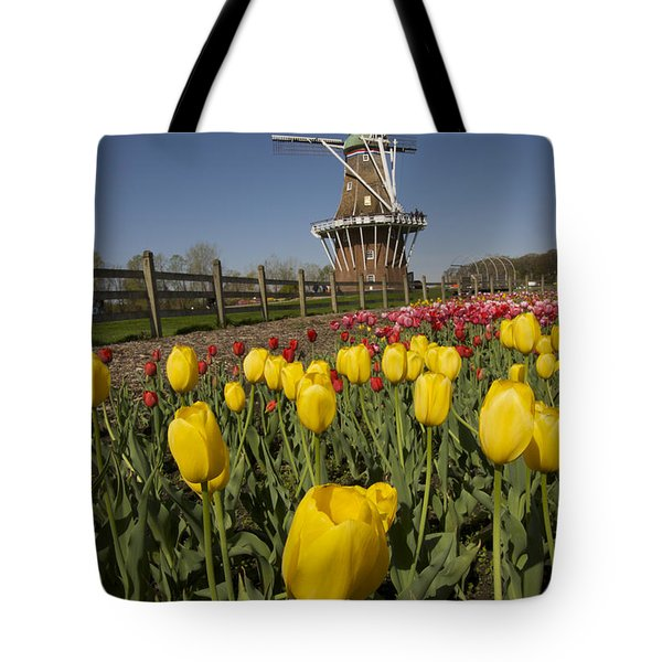 Tulip Time In Holland, Michigan Tote Bag