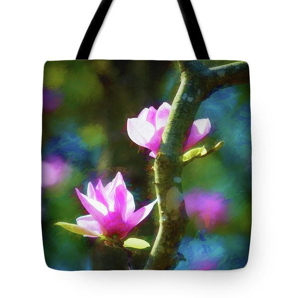 Tote Bag featuring the photograph Tulip Tree by James Barber
