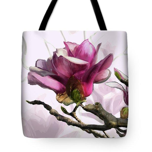 Tulip Trees Tote Bag