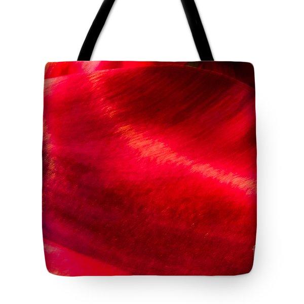 Tulip Wave Tote Bag