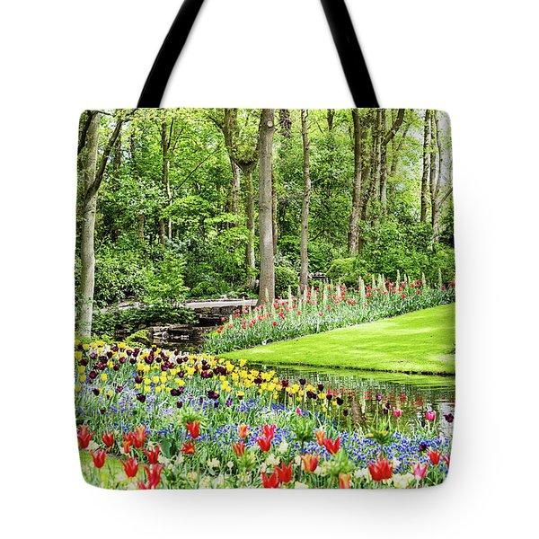 Tulip Wonderland - Amsterdam Tote Bag