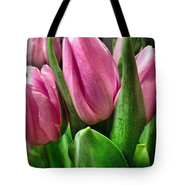 Tote Bag featuring the photograph Tulip143 by Olivier Calas