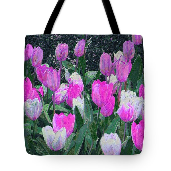 Tulips 327dp Tote Bag