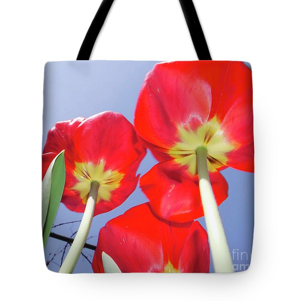 Tote Bag featuring the photograph Tulips by Elvira Ladocki
