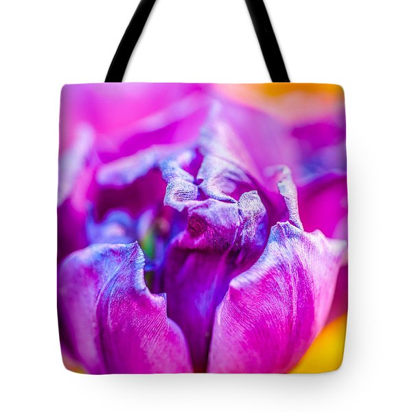 Tote Bag featuring the photograph Tulips Enchanting 50 by Alexander Senin