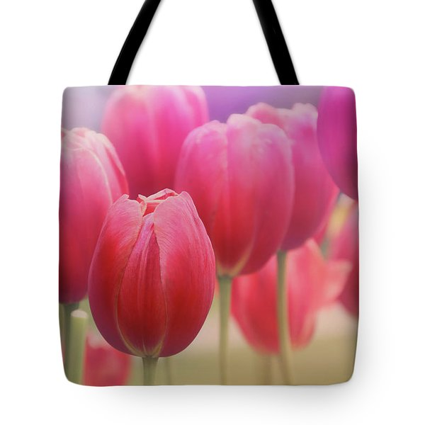 Tulips Entwined Tote Bag