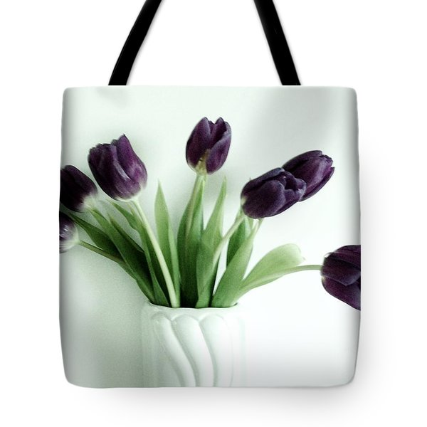 Tulips For You Tote Bag by Marsha Heiken