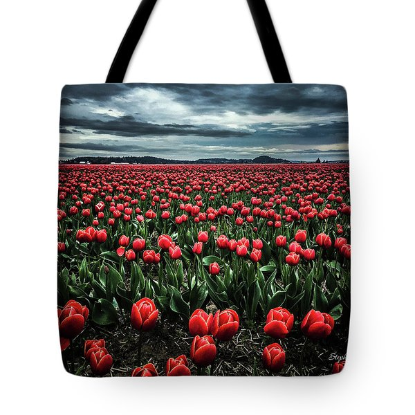 Tulips Forever Tote Bag