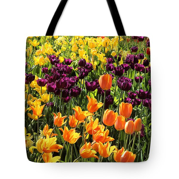 Tulips From Descanso Gardens Tote Bag