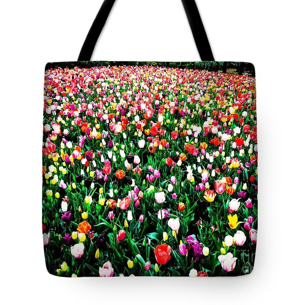 Tote Bag featuring the photograph Tulips by Helge