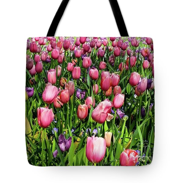 Tulips In Bloom Tote Bag