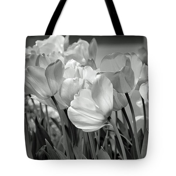Tote Bag featuring the photograph Tulips by JoAnn Lense