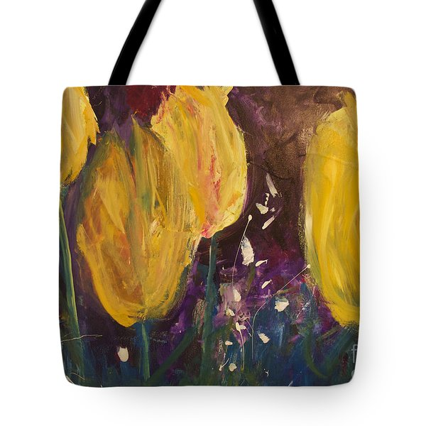 Tulips Tote Bag by Gallery Messina
