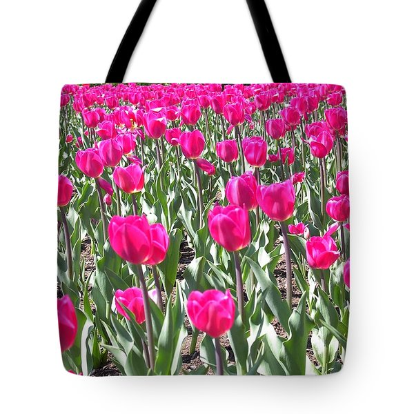 Tote Bag featuring the photograph Tulips by Mary-Lee Sanders