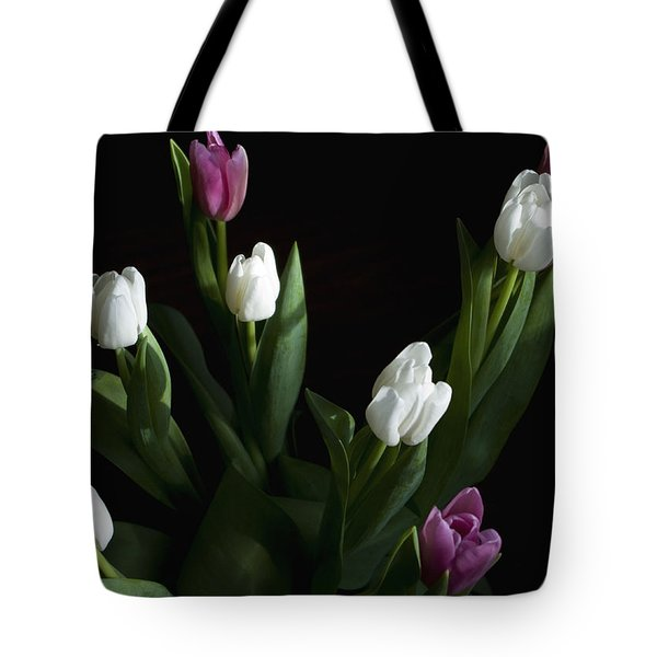 Tulips Tote Bag by Rhonda McDougall