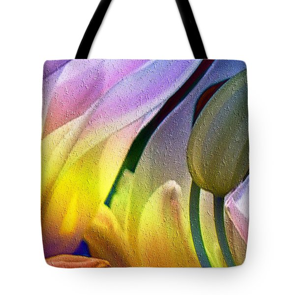Tulips Secret Tote Bag