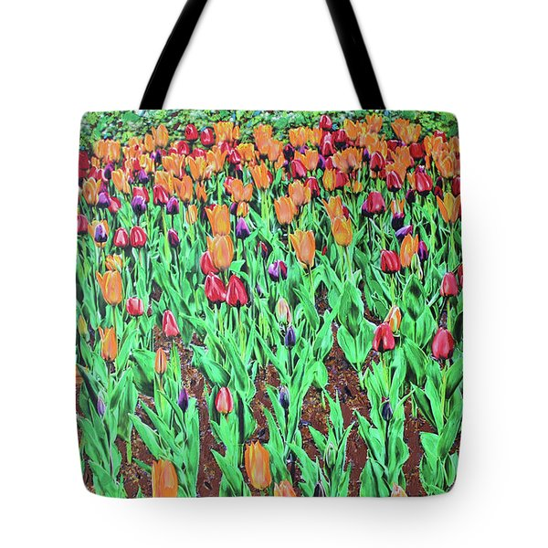 Tulips Tulips Everywhere Tote Bag