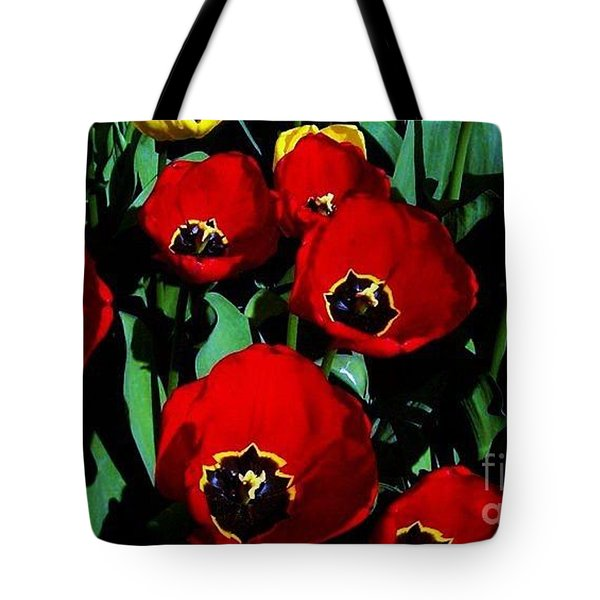 Tulips Tote Bag by Vanessa Palomino