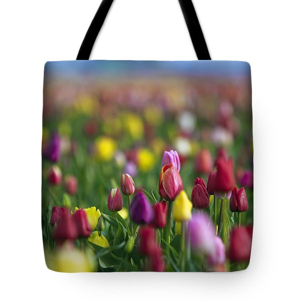 Tote Bag featuring the photograph Tulips by William Lee
