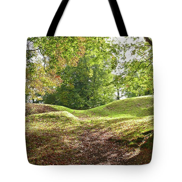 Tote Bag featuring the photograph Tullyhogue Fort by Colin Clarke